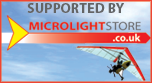 Supported by Microlightstore.co.uk